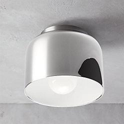 Bell White Flush Mount Light Reviews Cb2