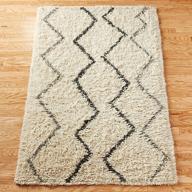 Beni Neutral Rug Cb2