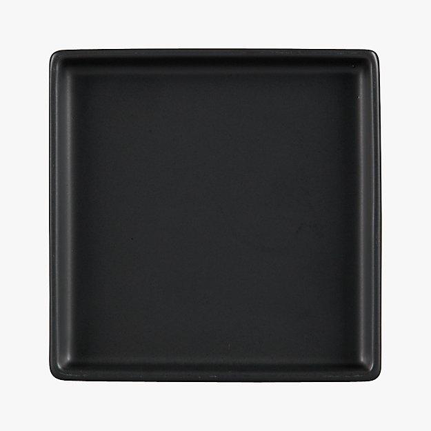 sc 1 st  CB2 & bento matte black appetizer plate + Reviews | CB2
