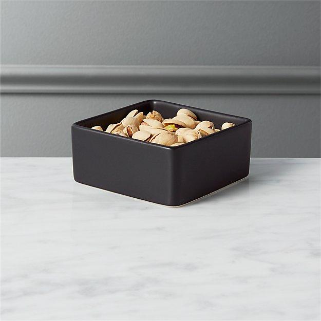 Bento Matte Black Mini Bowl - Image 1 of 5