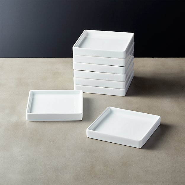 Set of 8 Bento Appetizer Plates - Image 1 of 12