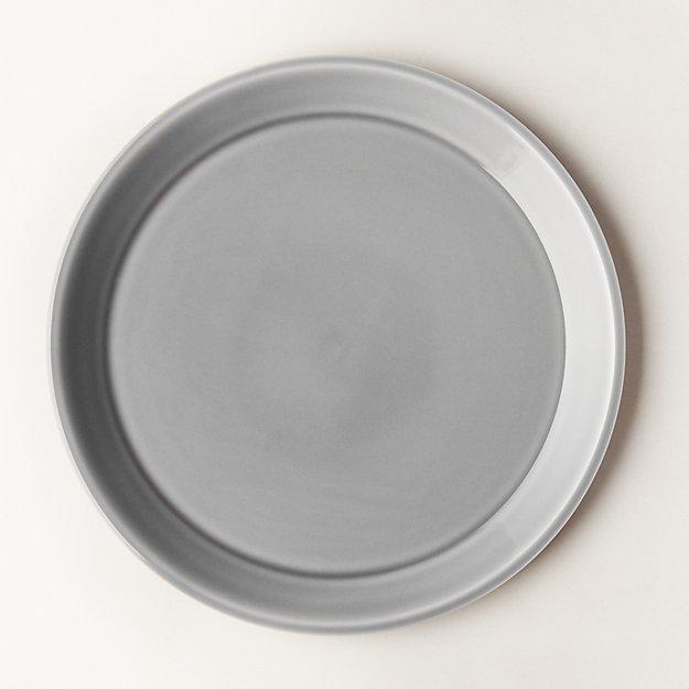 Bernard Grey Dinner Plate - Image 1 of 8