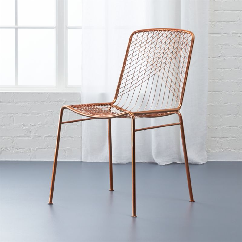 Superbe Beta Rose Chair + Reviews | CB2