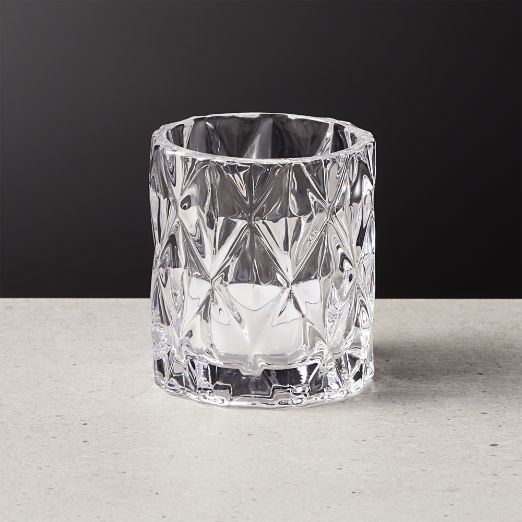 Betty Clear Tea Light Candle Holder