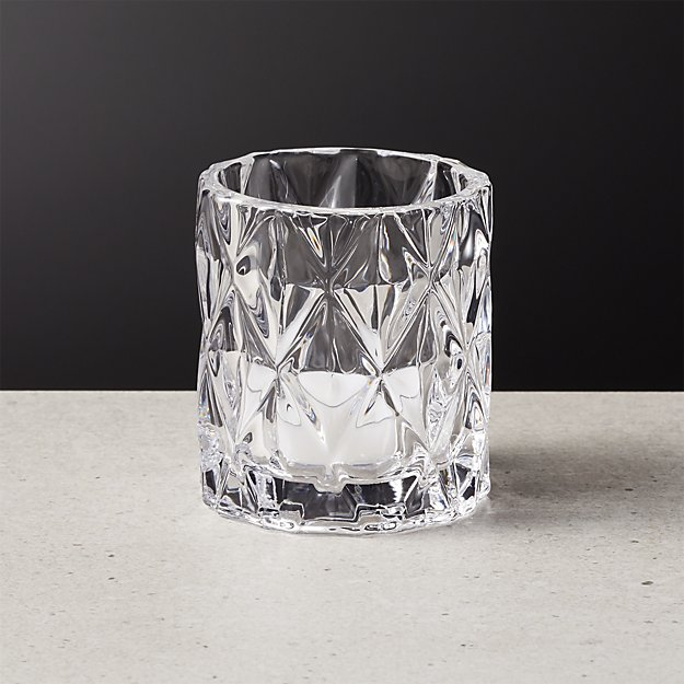 Betty Clear Tea Light Candle Holder - Image 1 of 5