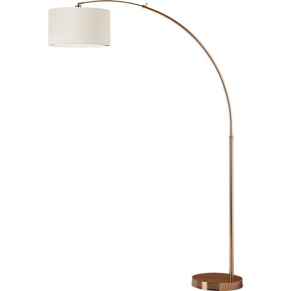 Dipper Arc Br Floor Lamp