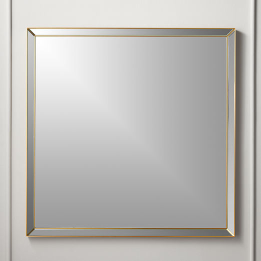 a2e24f6e267362 Modern Wall Mirrors: Round, Square & More | CB2