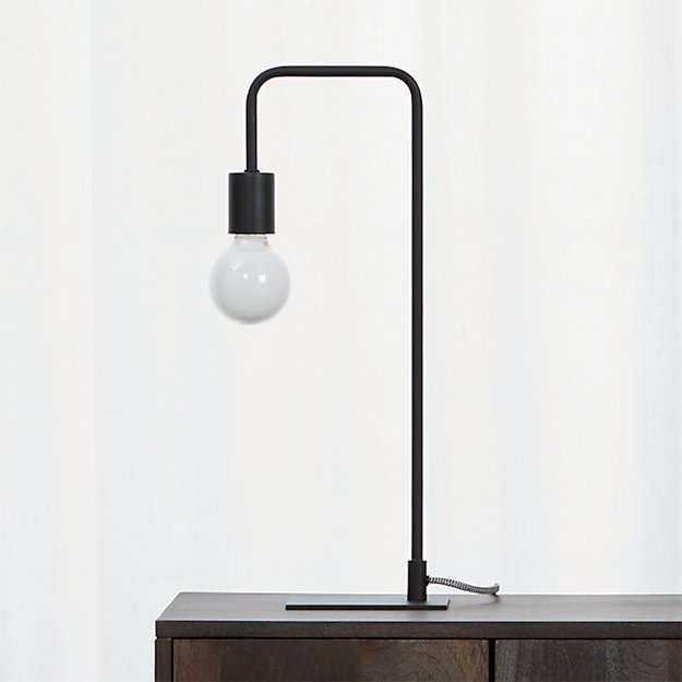 Arc Black Table Lamp - Image 1 of 8