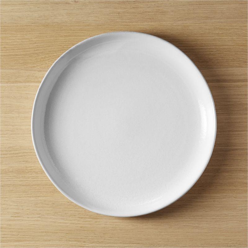 black clay dinner plate & Handmade Plates | CB2
