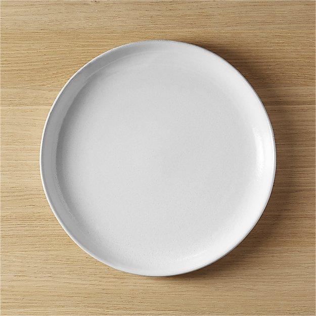 black clay dinner plate reviews cb2