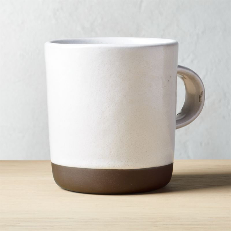 Black Clay Large Mug Reviews Cb2