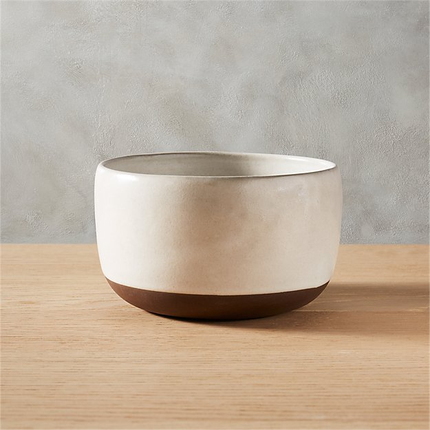 Black Clay Soup Bowl - Image 1 of 12
