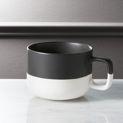 Black Dip Coffee Mug