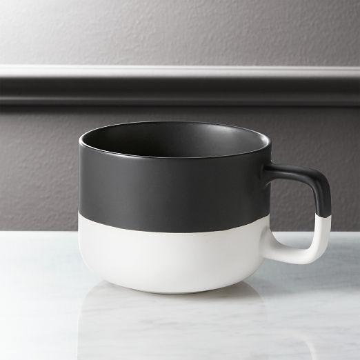 Black Dip Coffee Mug