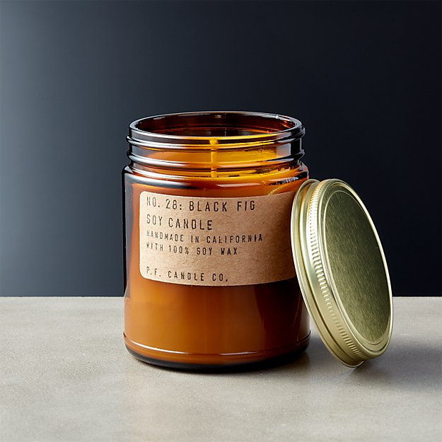 P.F. Candle Co. Black Fig Soy Candle 7.2 oz - Image 1 of 7