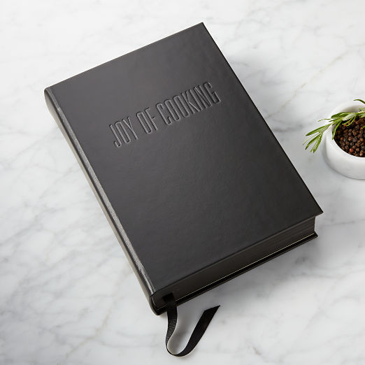 Black Leather Joy of Cooking Book