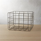 View product image black wire basket - image 1 of 5