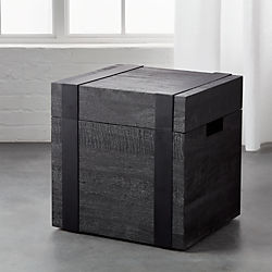 Black Square Trunk