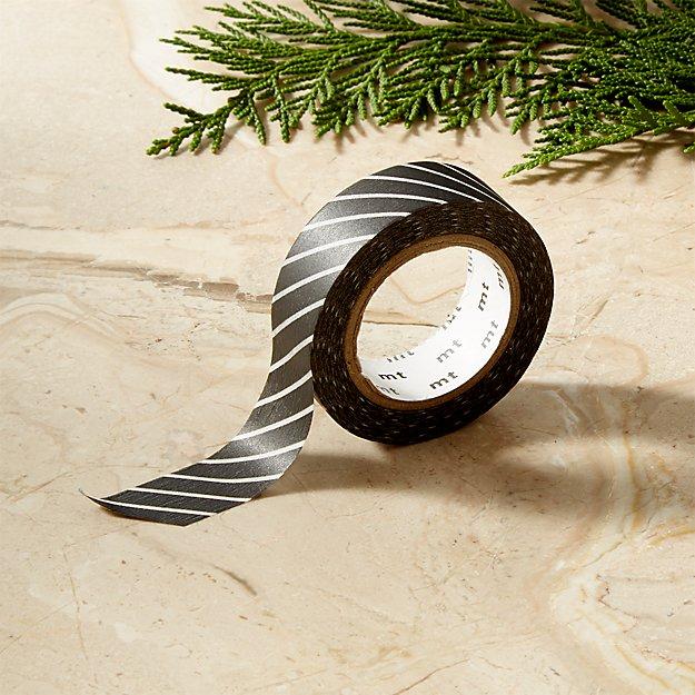 Black Stripe Washi Tape - Image 1 of 6