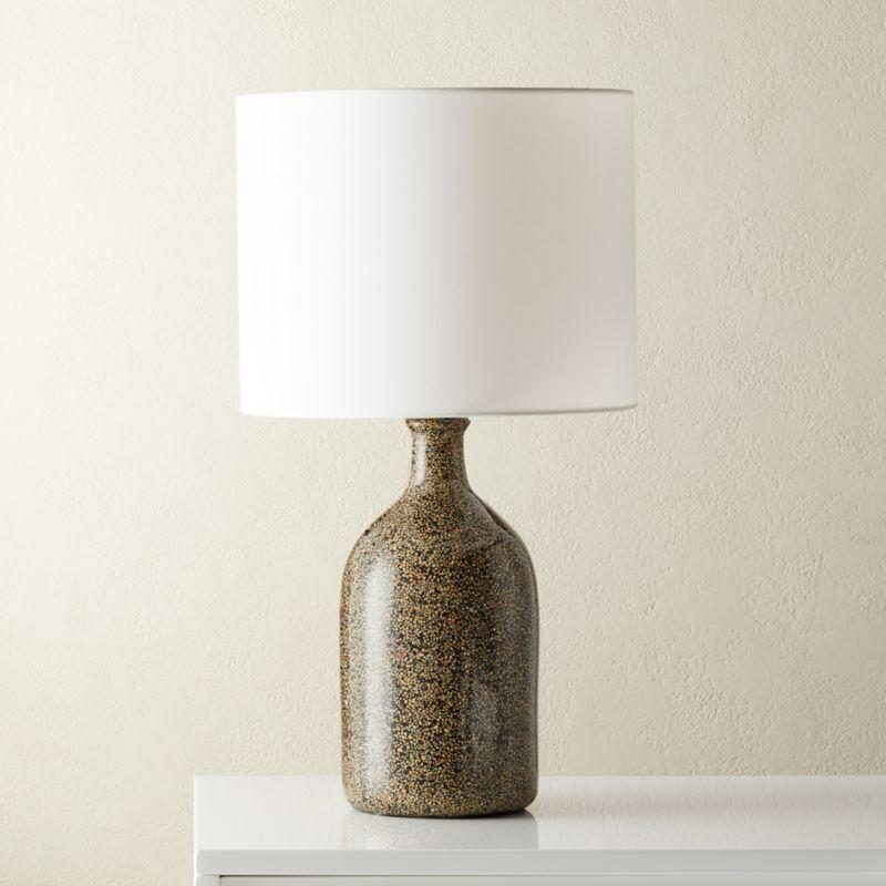 Black Terrazzo Table Lamp