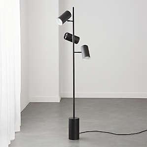Modern Black Floor Lamps Cb2