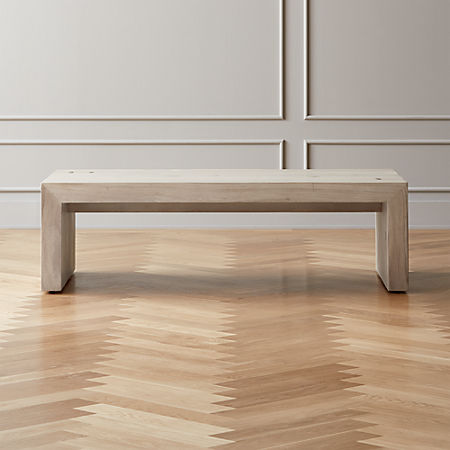 timeless design 84c30 776b6 Blanche Bleached Acacia Coffee Table + Reviews | CB2