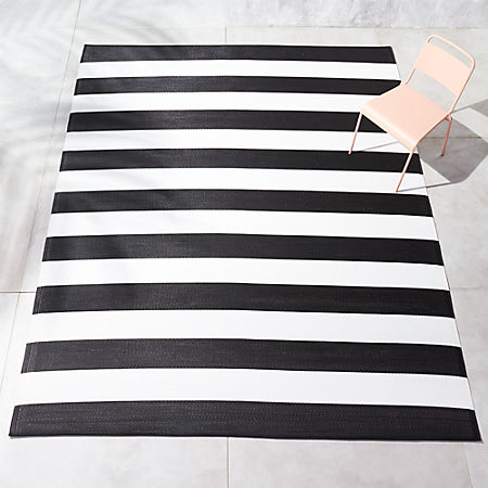 Dare To Go Where The Wild Things Are When You Add This Fun Zebra Rug Your E Designed For Use Both Indoors And Out Features A Bold