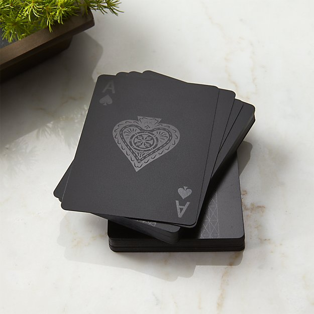 Blackcard Playing Cards - Image 1 of 7