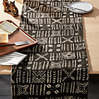 View product image Black Mudcloth Table Runner - image 3 of 5