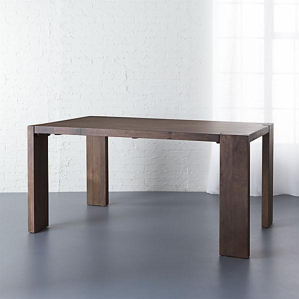Blox Mango Wood Dining Table Cb2