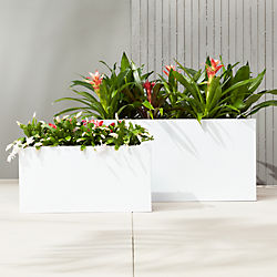 Modern Planters and Garden Pots | CB2
