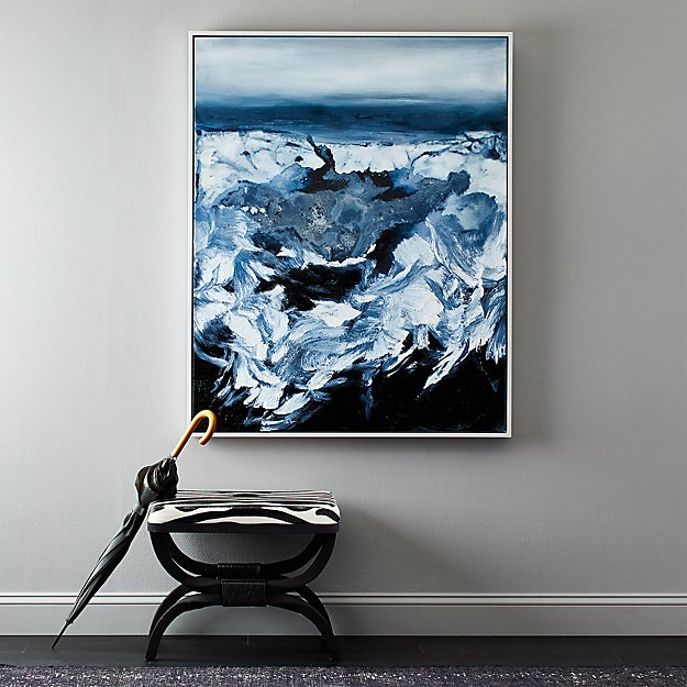 Blue Crush Painting - Image 1 of 4