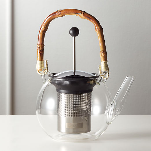 Bodum Assam Tea Press with Bamboo Handle