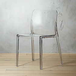 Bolla Acrylic Dining Chair & Modern Dining Chairs: Accent Cafe and Kitchen Chairs | CB2