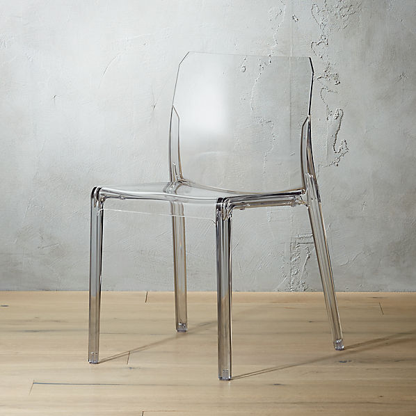 Bolla Clear Dining Chair Reviews Cb2