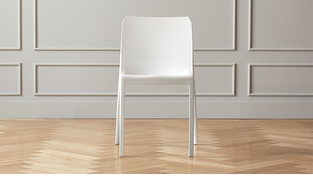 Bolla White Dining Chair - Image 1 of 7