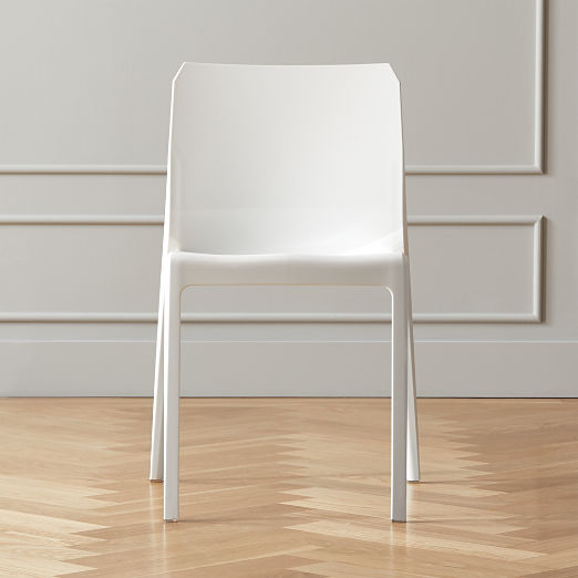 Bolla White Dining Chair