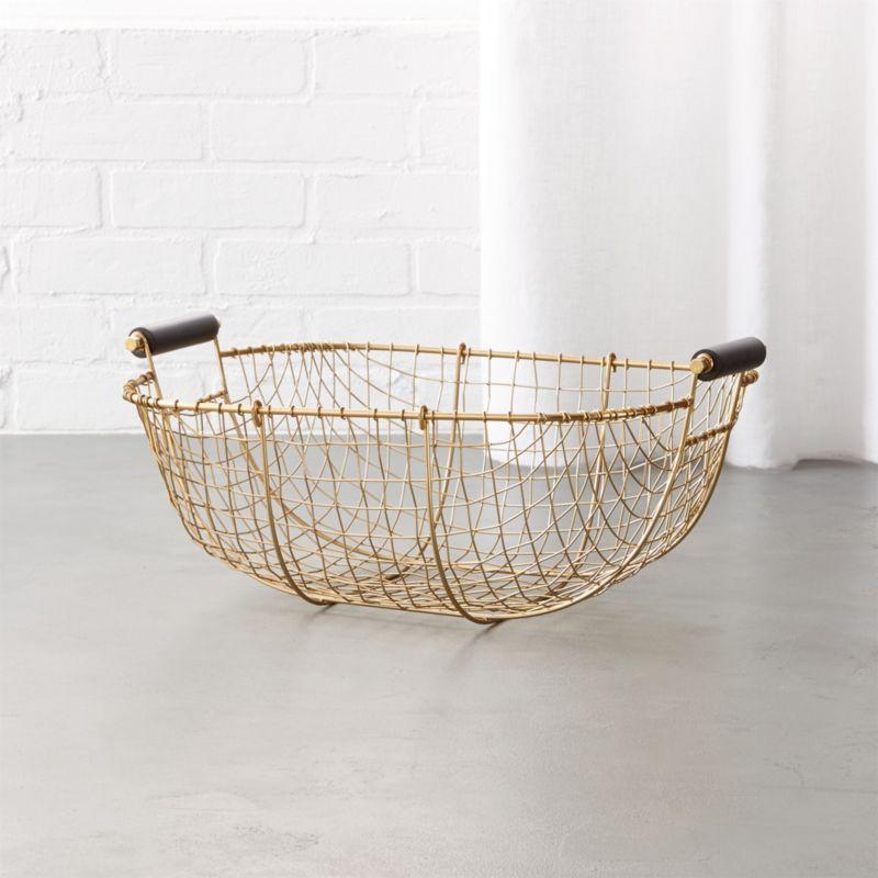 Metal Baskets Cb2