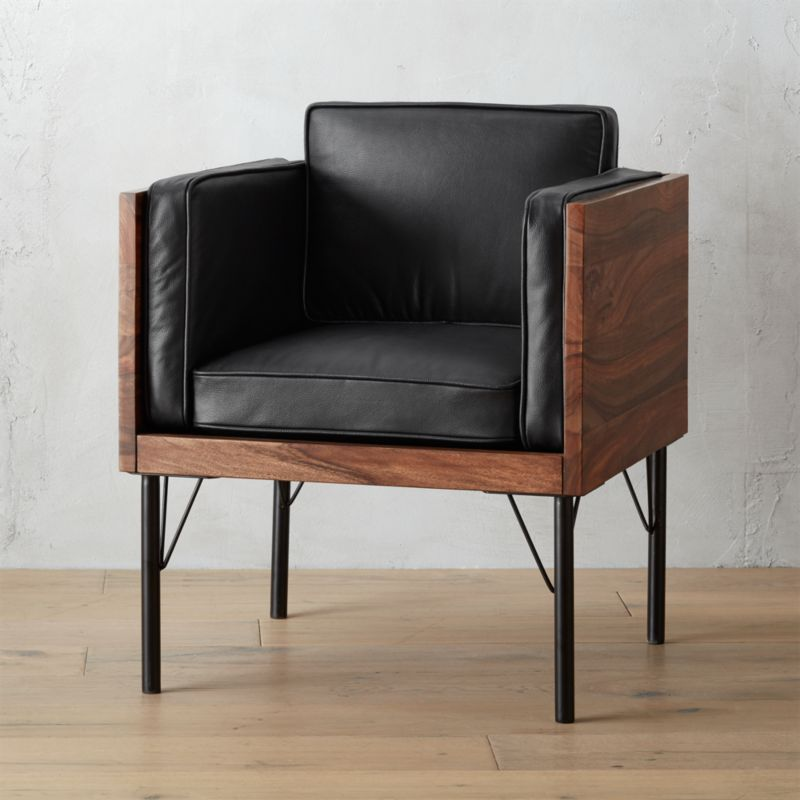 barrel reviews crate metropole and chairs chair leather