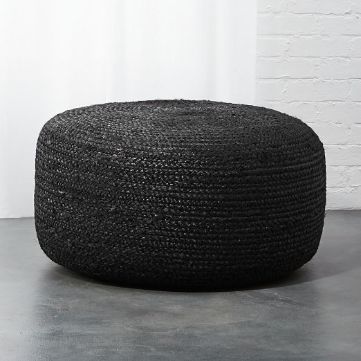 Astonishing Modern Poufs And Floor Pouf Seating Cb2 Unemploymentrelief Wooden Chair Designs For Living Room Unemploymentrelieforg