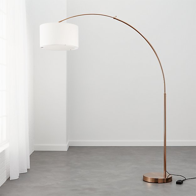 Big dipper arc brass floor lamp reviews cb2 aloadofball Images