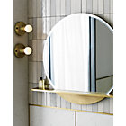 View product image brass flush mount light - image 3 of 12