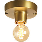 View product image brass flush mount light - image 10 of 12