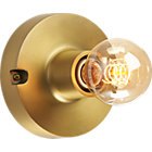 View product image brass flush mount light - image 9 of 12