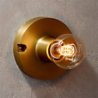 View product image brass flush mount light - image 2 of 12