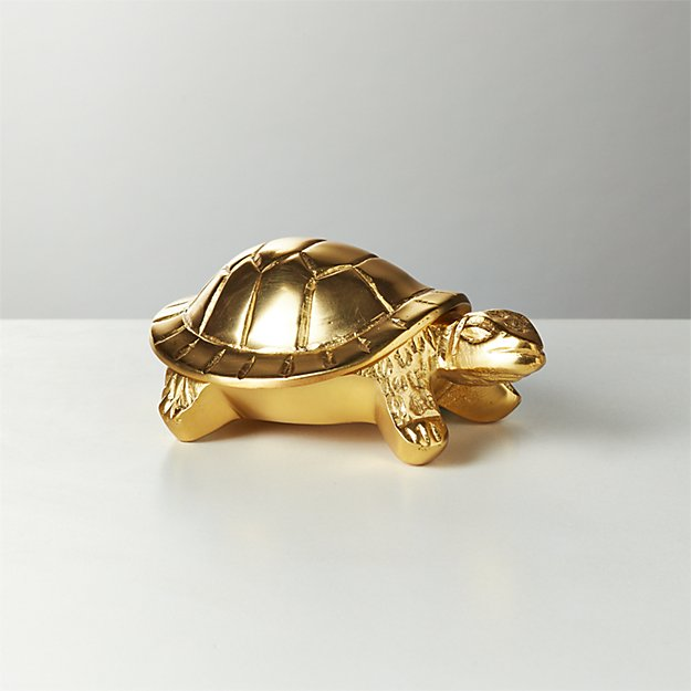 Brass Turtle Box - Image 1 of 6