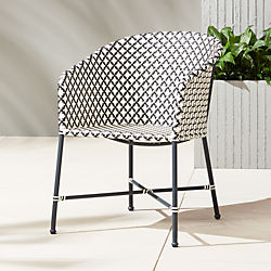 unique outdoor furniture modern tables and chairs cb2