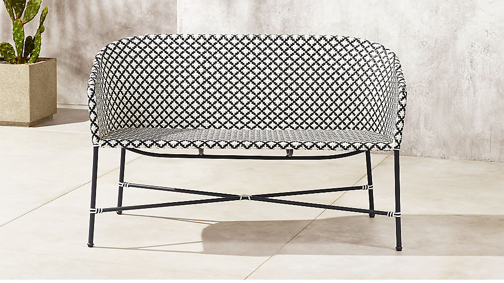 Brava Wicker Loveseat