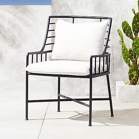 Strange Breton Black Metal Dining Chair Short Links Chair Design For Home Short Linksinfo