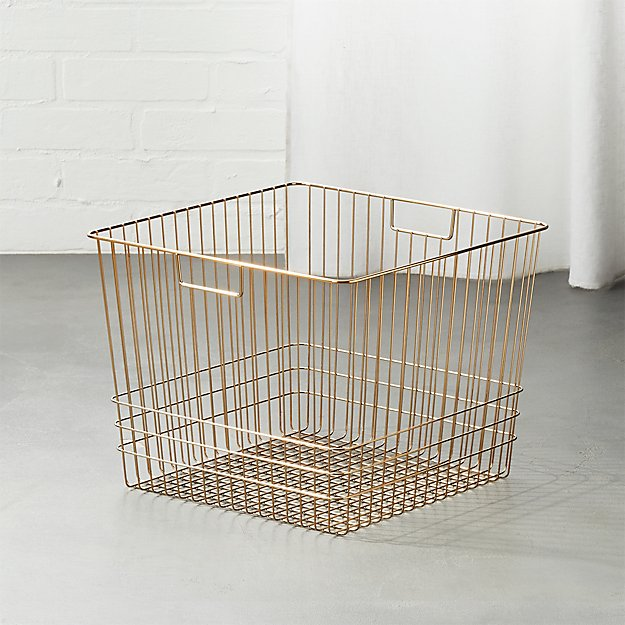 Bridgeport Metal Wire Baskets | CB2